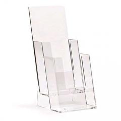 Acrylic Kotak Brosur A6 2 Susun