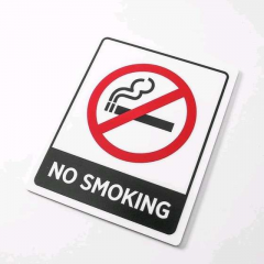 Acrylic Sign No Smoking