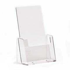 Acrylic Tempat Brosur A6/Display Brosur/Kotak Brosur