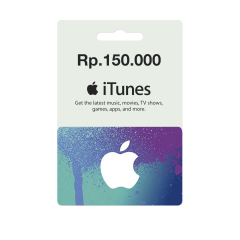 IGC - iTunes Gift Card IDR 150.000,-