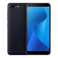 Asus Zenfone Max Plus M1 - 64GB/4GB - Deepsea Black [Garansi Resmi]