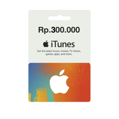 IGC - iTunes Gift Card IDR 300.000,-