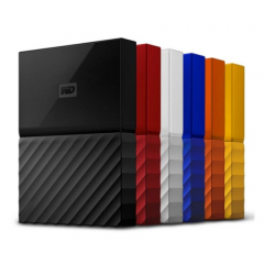 WD Passport Ultra Portable 2TB USB 3.0 - New Model