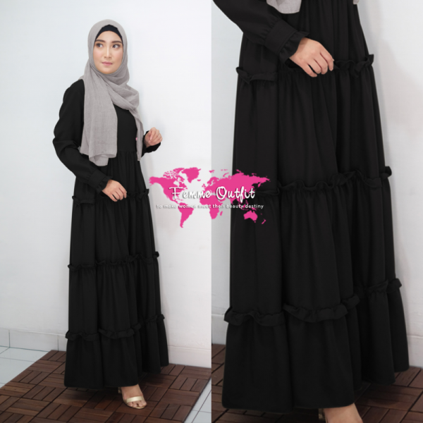 Alicia Dress Black Size S