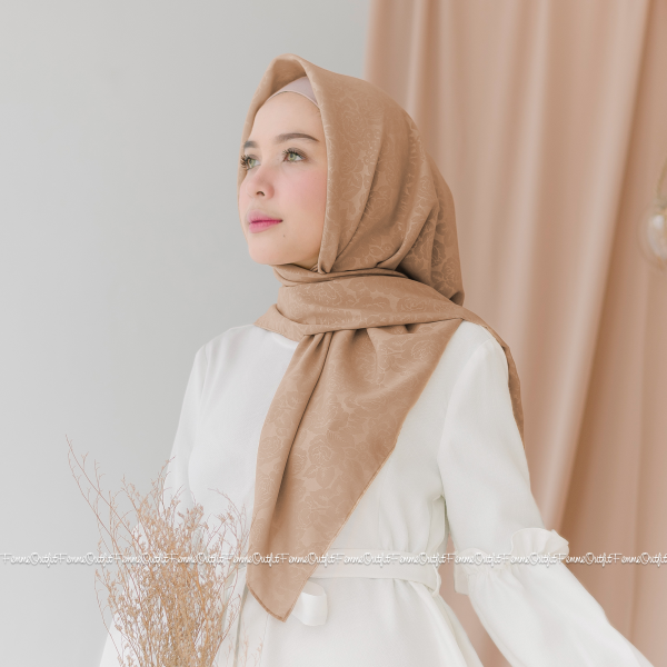 Maryam Shawl Sweet Mocca