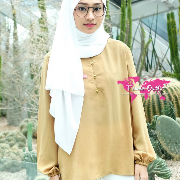Aminah Top Gold