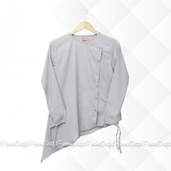 Fatimah Top Grey