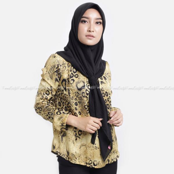 Lia Top Black Gold