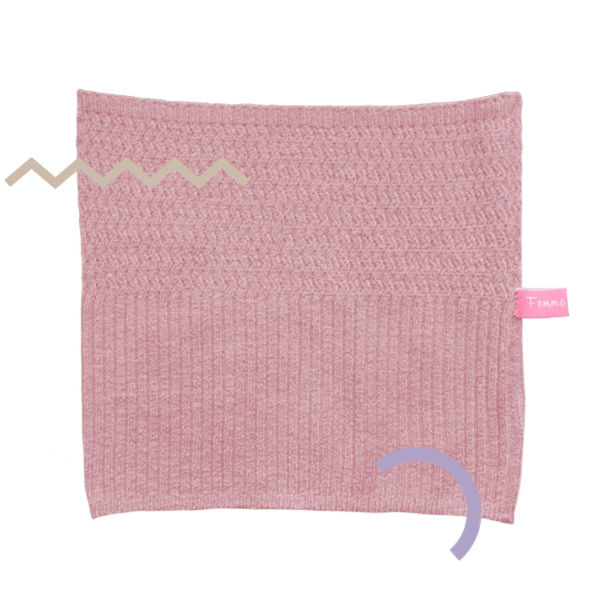 Lizi Knit Head Band Dusty Pink