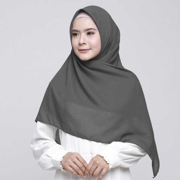 Alicia Shawl Square Deep Grey
