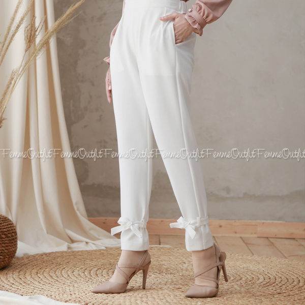 Alicia Pants Broken White L