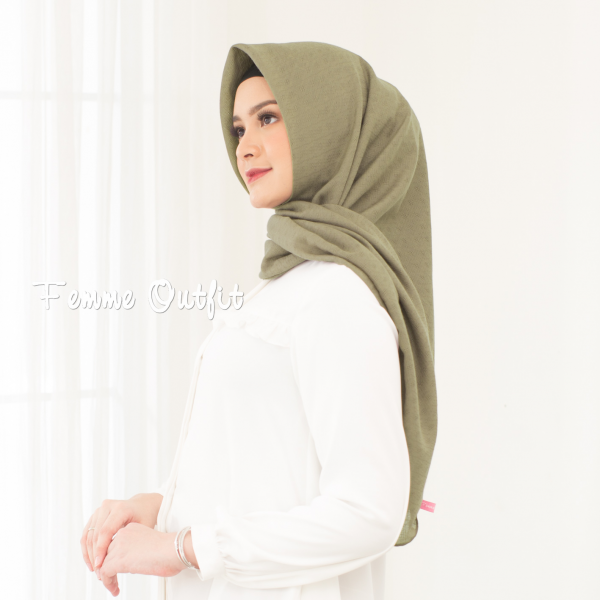 Alexa Shawl Square Sweet Olive