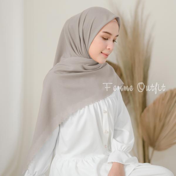 Sabrina Shawl Square Ayana Grey
