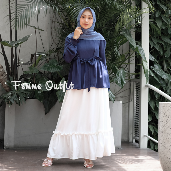 Alya Skirt Broken White