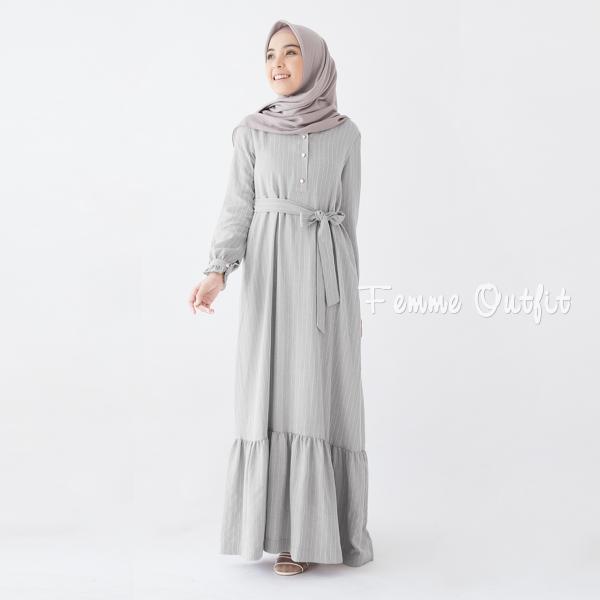 Alula Dress Dark Grey
