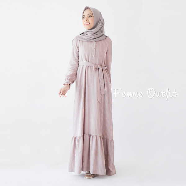 Alula Dress Red Berry