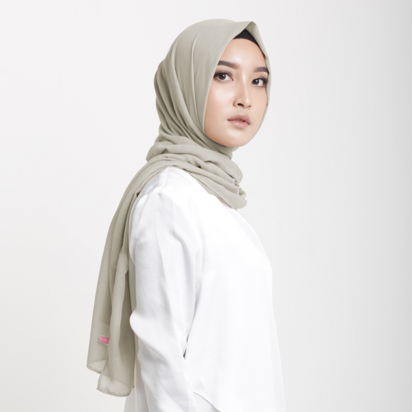 Fristy Shawl Pashmina Dusty Latte