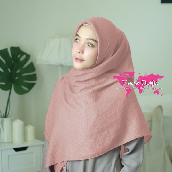 Azzura Shawl Square Sweet Cherry