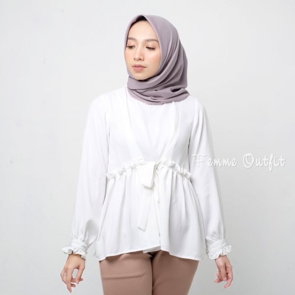 Clemira Top Broken White