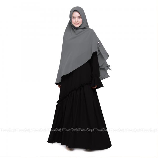 Fatihah Khimar Grey
