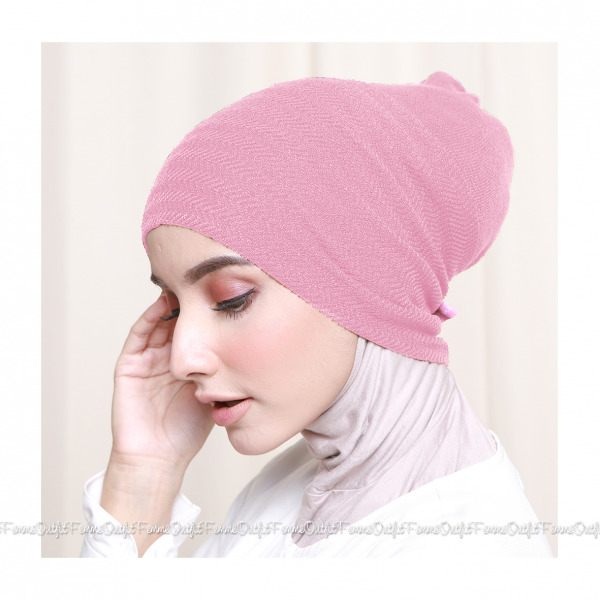 Khanza Knit Headband Dusty Pink