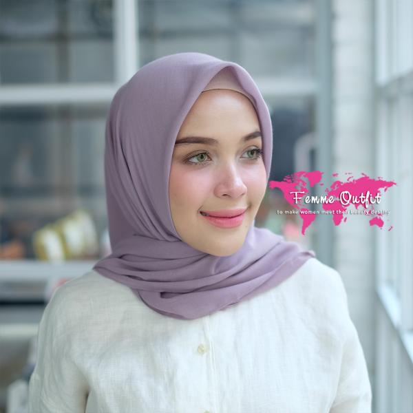 Kyara Shawl Square Sweet Lavender