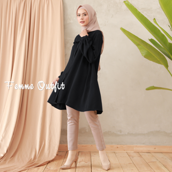 Laiqa Blouse Black