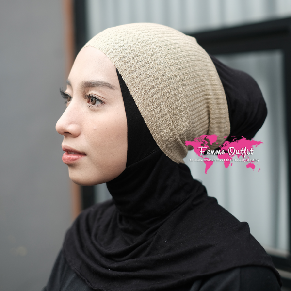 Lizi Knit Head Band Nude