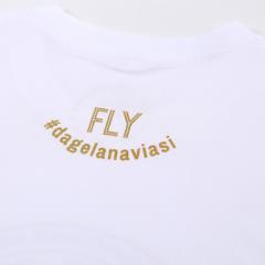 FLY Tee Aviation Circle White