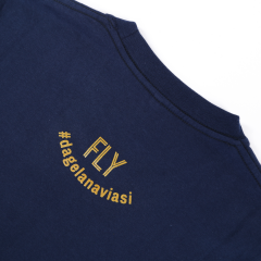 FLY Tee Aviation Circle Navy