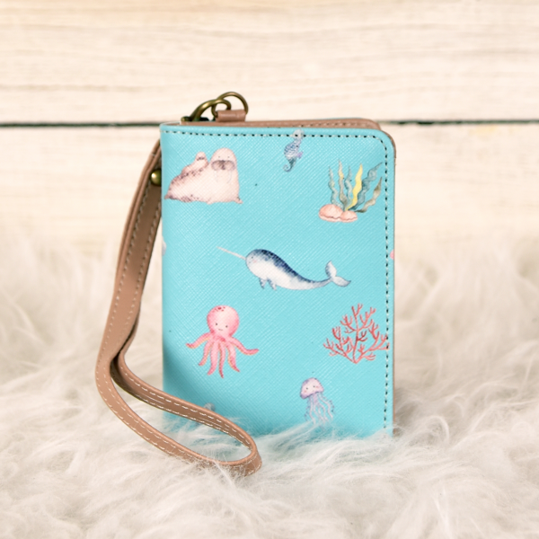 Id Tag Wallet Turqouise