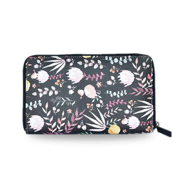 Travel wallet floral