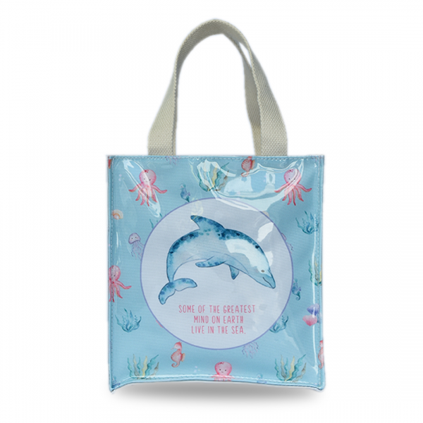 Market bag small whale