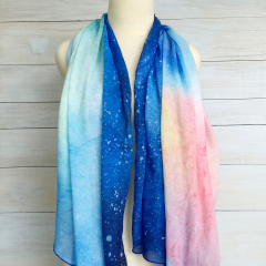 Scarf Blue Night 150x100cm