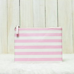 Pink Stripes Olivia Pouch
