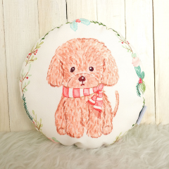 Toy Poodle Rounded