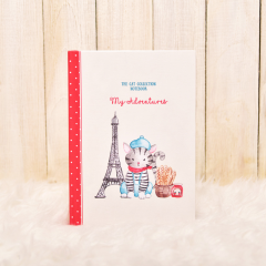 American Shorthair Journal (Eiffel Tower)