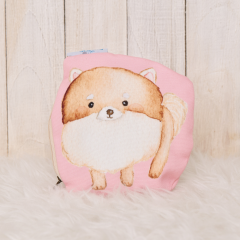 Pomerian Pink Pencil Case