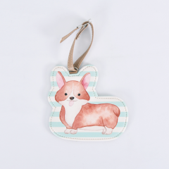 Luggage Tag Corgie