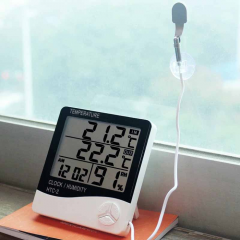 digital thermometer indoors - outdoors 2