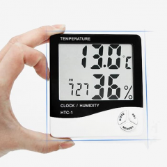 thermomometer - clock