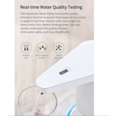 xiaomi water pump with tester.