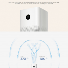 Xiaomi Mi Air Purifier 3h OLED Digital Display