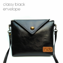MDB Slingbags Envelope Classy Black