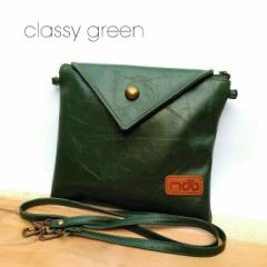 MDB Slingbags Envelope Classy Green