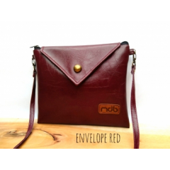 MDB Slingbags Envelope Classy Red