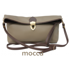 Clutch Hibiscus Mocca