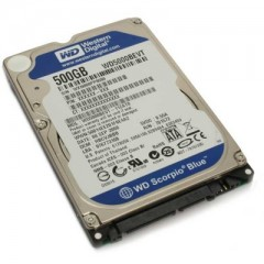 Western Digital Blue 500GB 2.5 Inch SATA3 5400 RPM Internal Notebook Hardisk