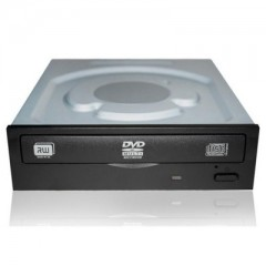 Lite-On 24X Black SATA DVD-RW - Internal Optical Drive (Loosepack)