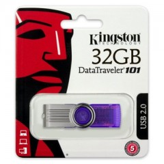 Kingston DataTraveler 101 G2 32GB - USB 2.0 Flash Drive (Purple)
